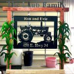 Custom Metal Signs for Home and Business in Ravenna Nebraska Mills Farm Nebraska Tractor Metal Sign