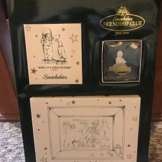 Snowbabies Dept. 56 Friendship Collection 1998-1999 Ravenna Nebraska Blackbird Store