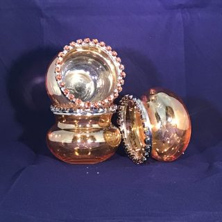 Gold Jeweled Bowl